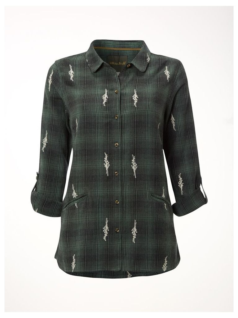 Rain Emb Check Shirt
