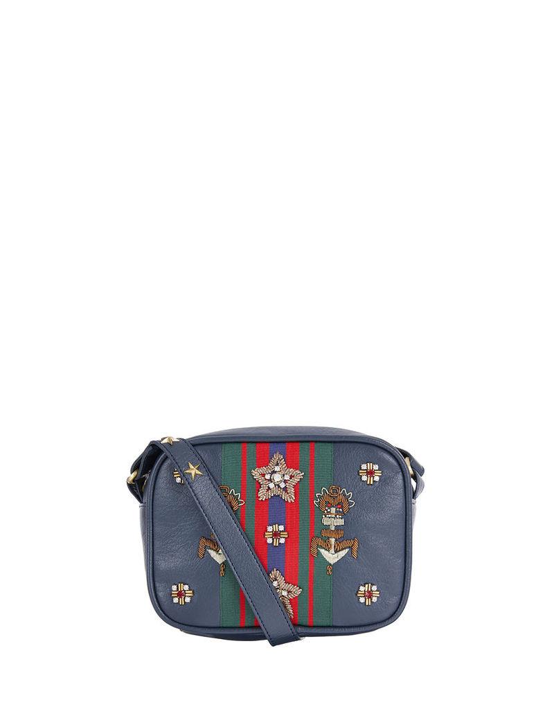 Wallace Stripe Cross Body Bag