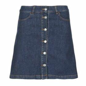 Yurban  IHEJUPETTE  women's Skirt in Blue