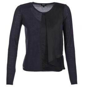 Armani jeans  JAUDO  women's Sweater in Blue