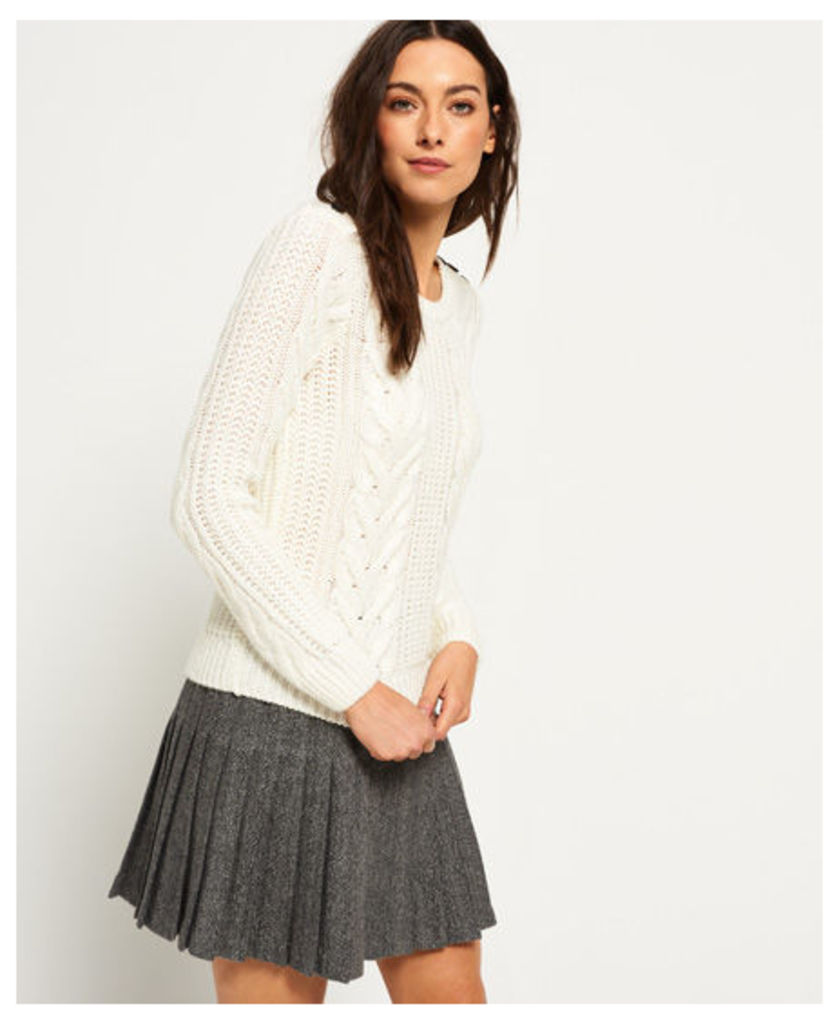 Superdry Jenna Cable Jumper