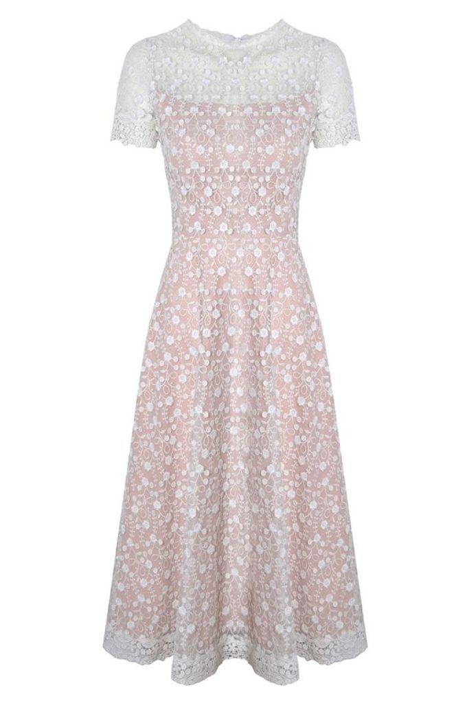Madeline Dress White