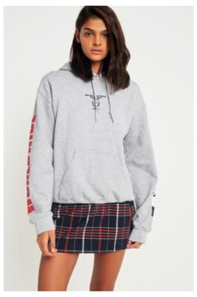 Urban Outfitters Worldwide Hoodie, Grey