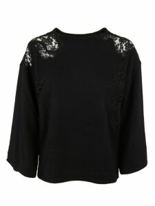Ermanno Ermanno Scervino See-Through Shoulder Sweatshirt