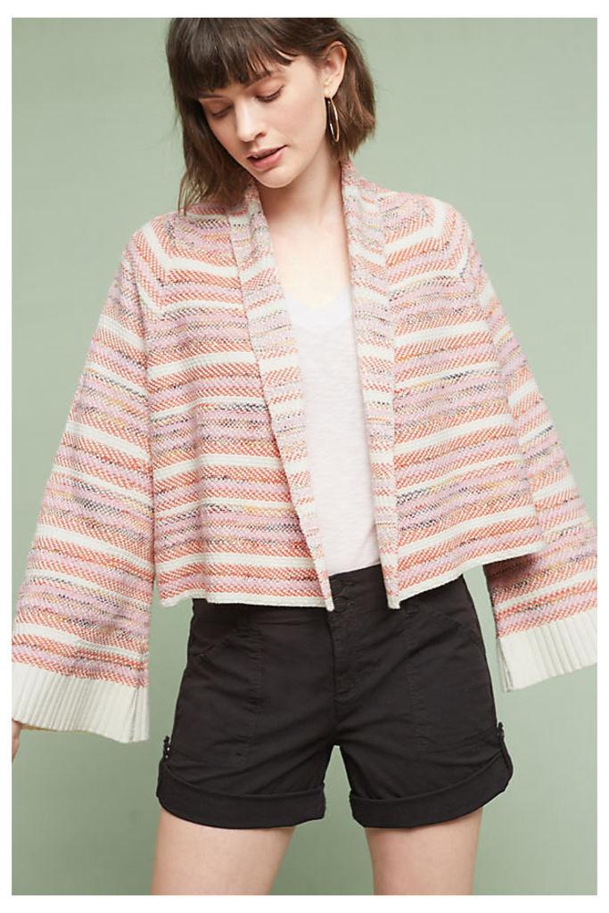 Mahalia Kimono Cardigan, Orange - Orange Motif, Size L