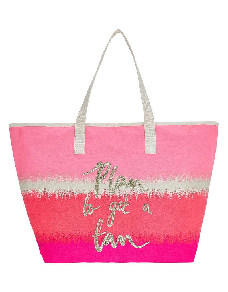 Plan To Get A Tan Beach Bag
