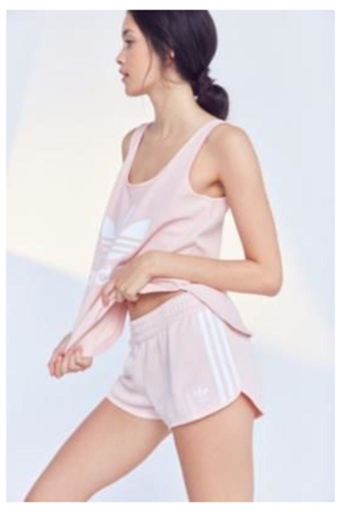 adidas Originals 3 Stripe Shorts, Pink
