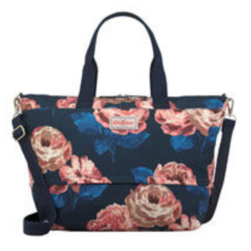 Large Beaumont Rose Expandable Travel Bag