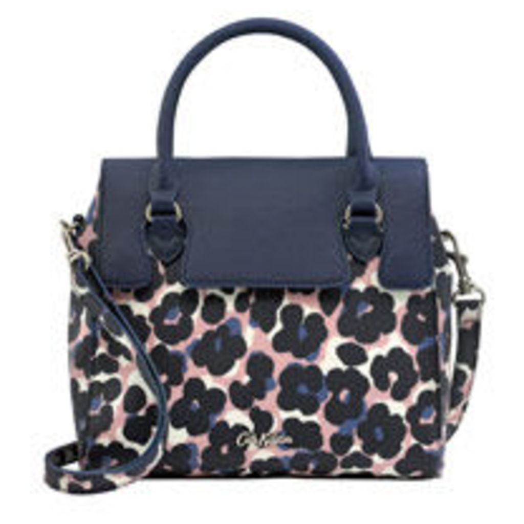 Leopard Flower Wingrove Small Cross Body Handbag