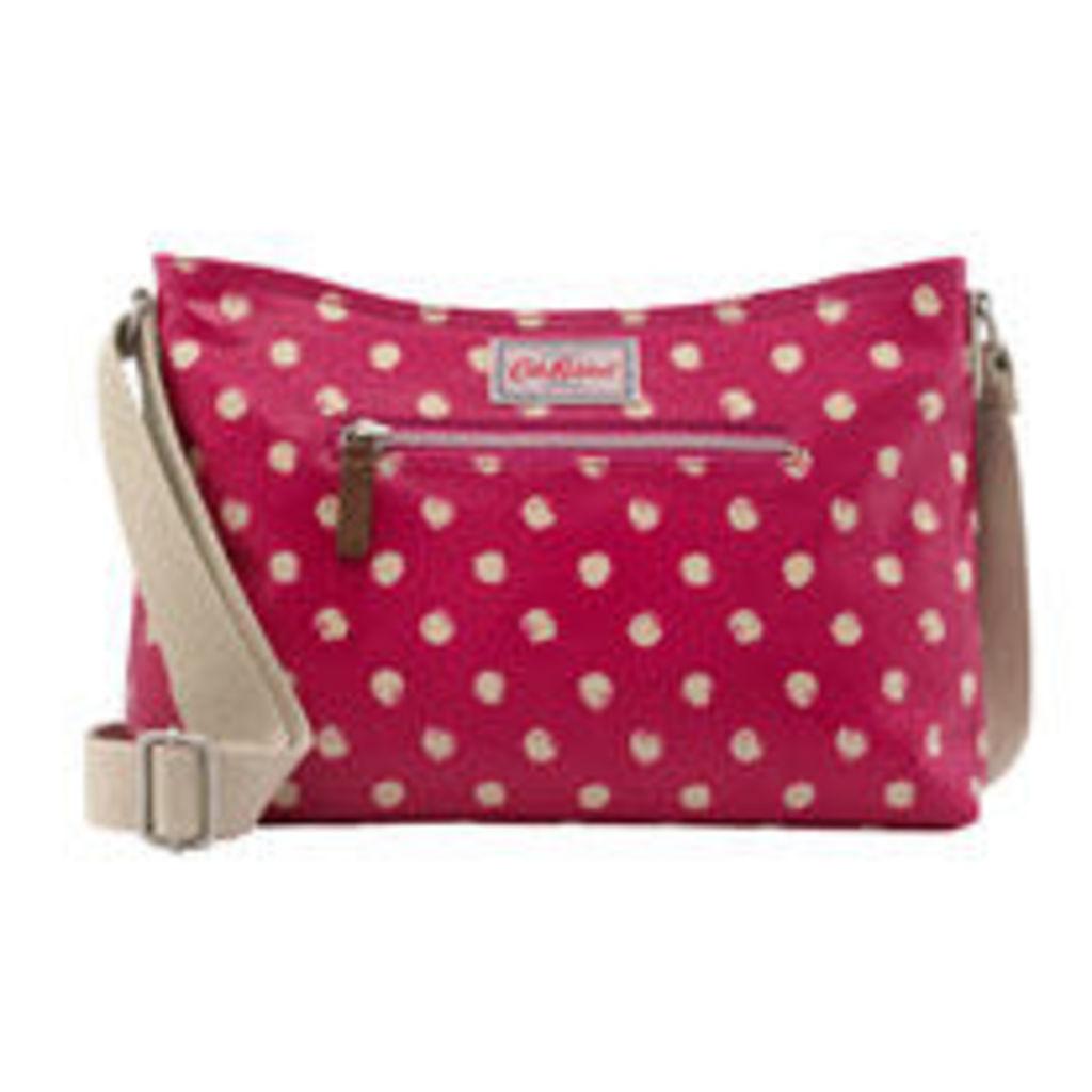 Mini Smudge Spot Zipped Cross Body Bag
