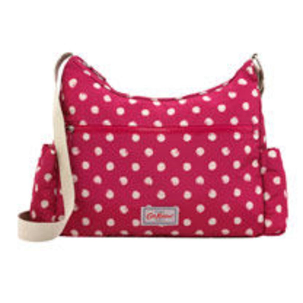 Mini Smudge Spot Foldaway Zipped Cross Body Bag