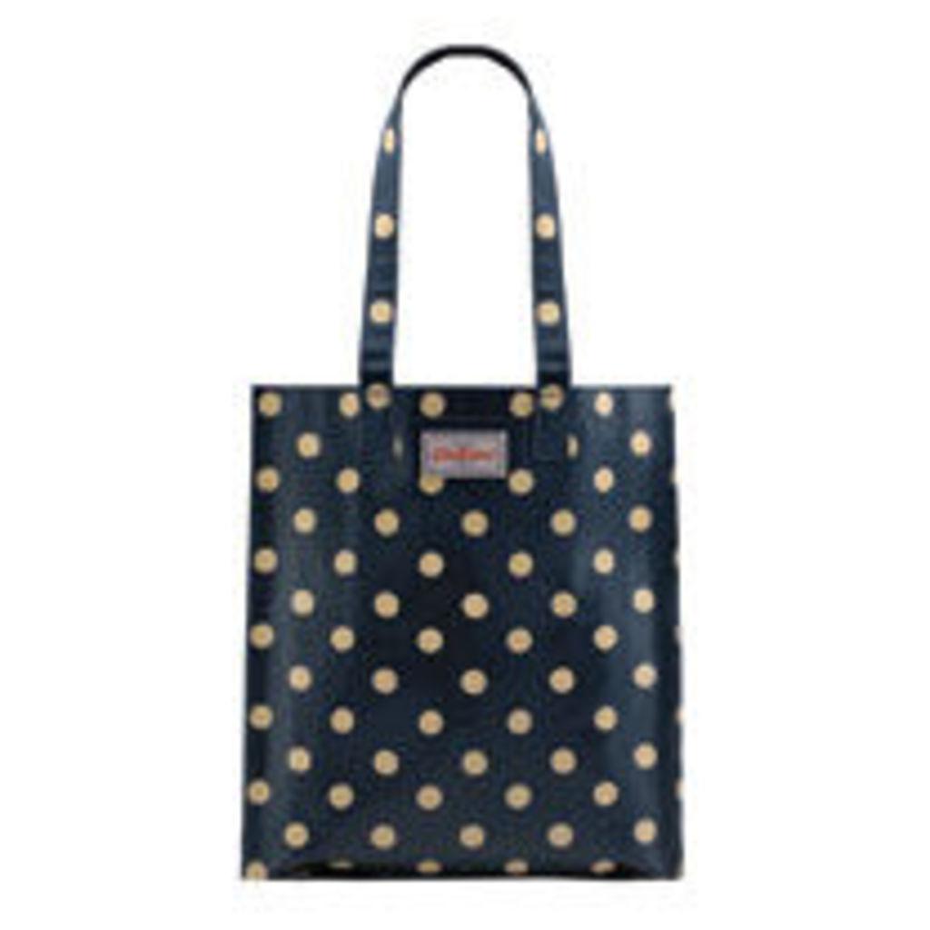 Button Spot Bookbag with Gusset