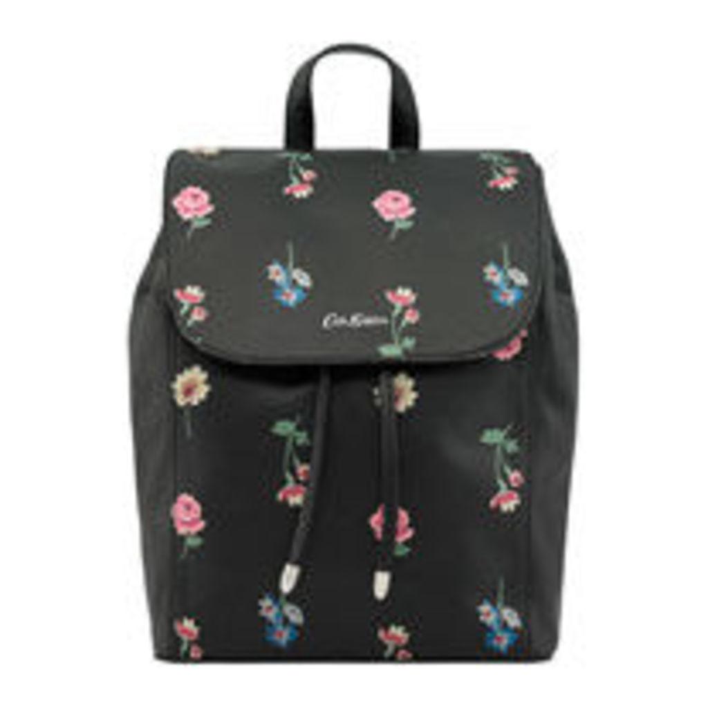 Lulworth Flowers The Saxham Leather Backpack