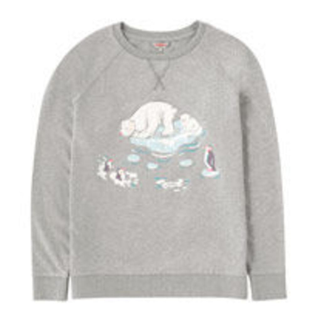 Polar Bear Cotton Sweatshirt