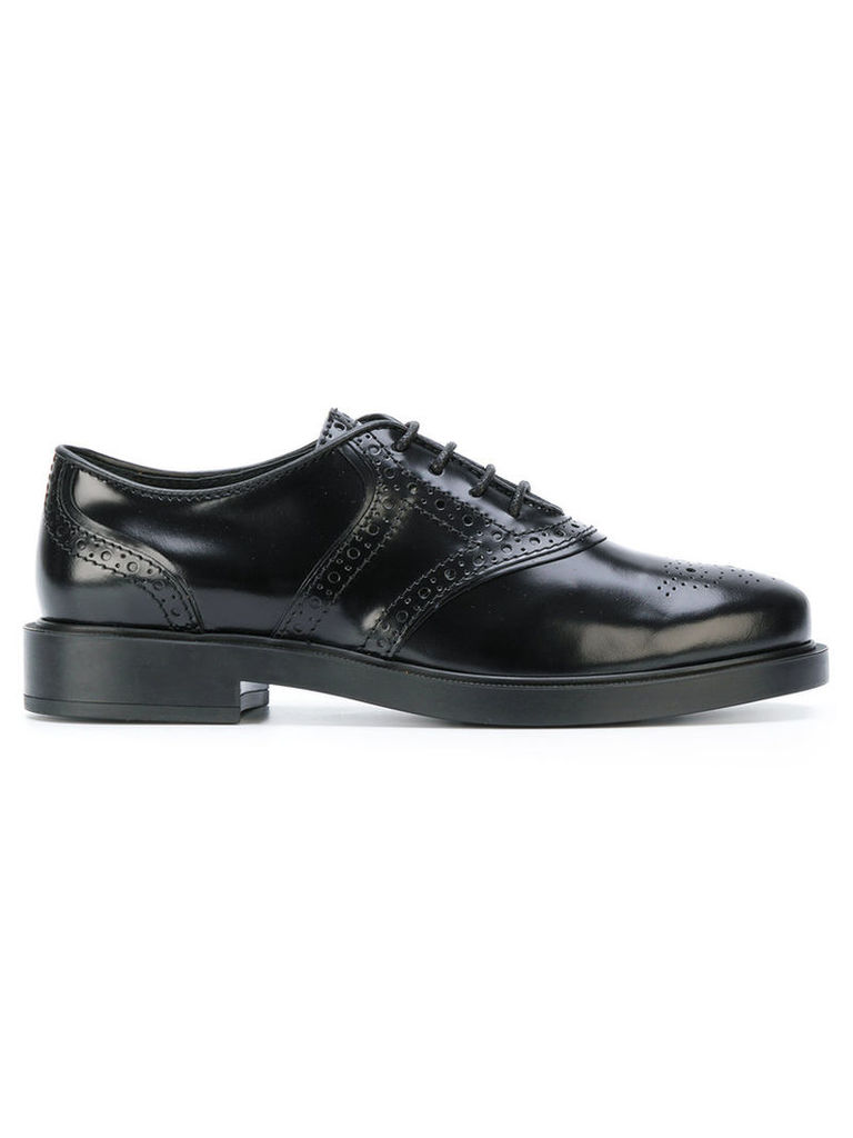 Tod's - classic lace-up brogues - women - Leather/rubber - 36, Black