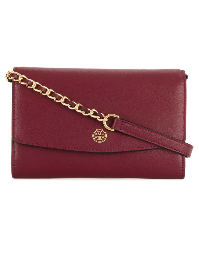 Tory Burch - Parker crossbody bag - women - Leather - One Size, Red