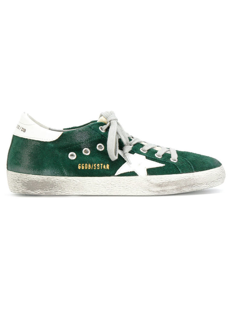 Golden Goose Deluxe Brand - Superstar sneakers - women - Cotton/Leather/rubber - 36, Green