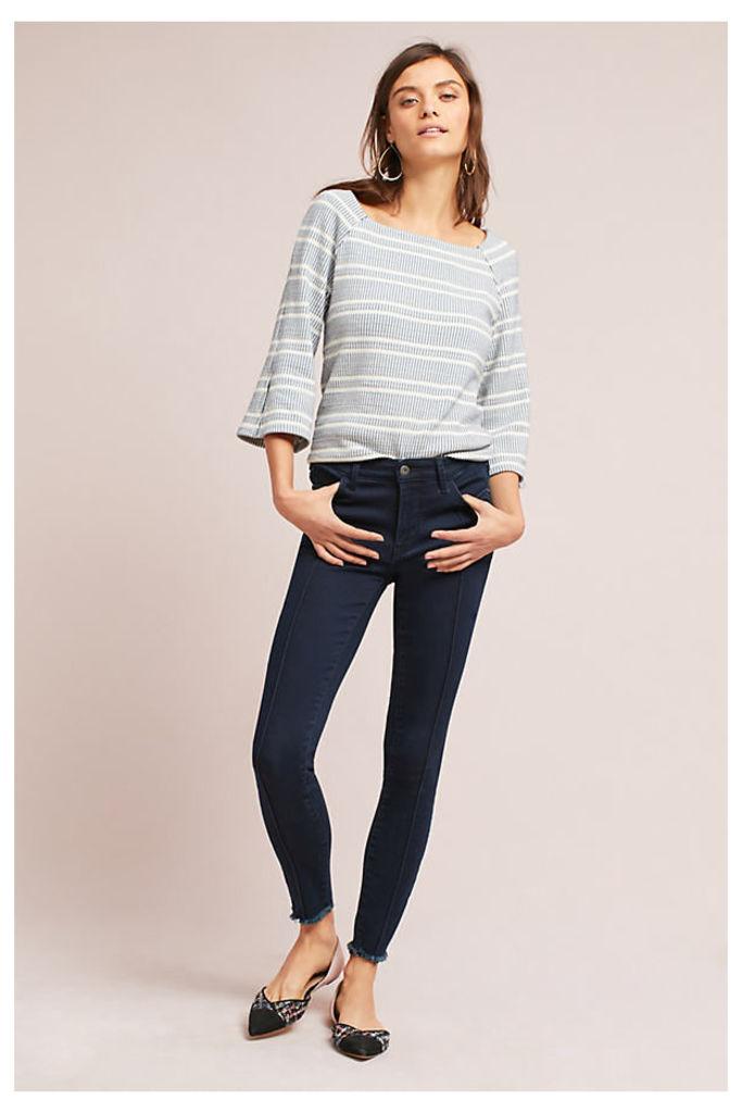 Pilcro Mid-Rise Skinny Jeans - Denim Dark, Size 26