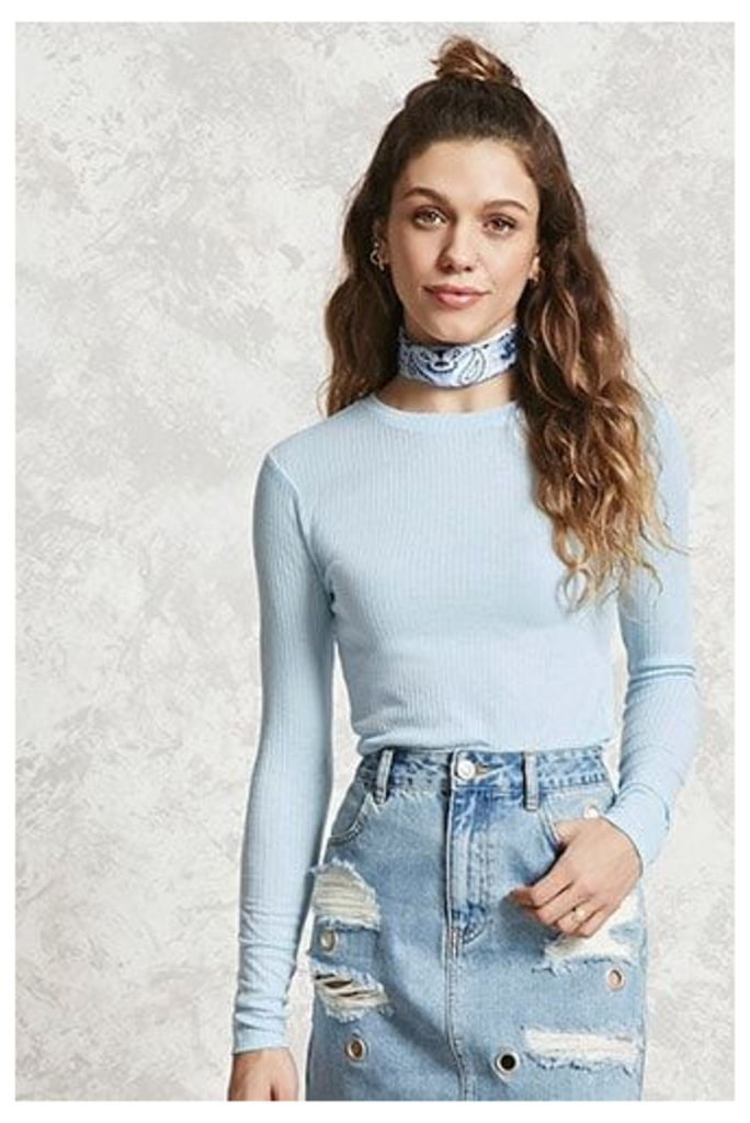 Textured Stripe Knit Top