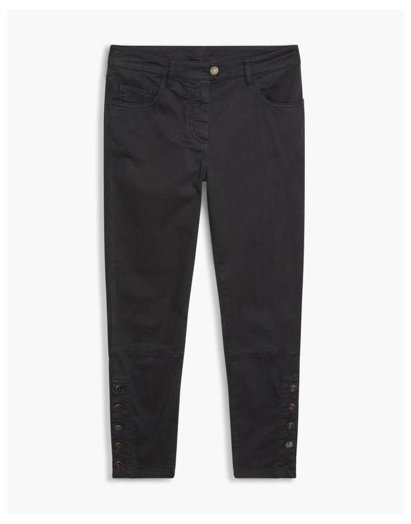 Belstaff Rossport Button Jeans Black