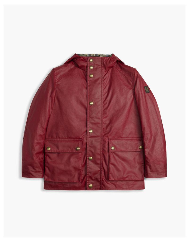 Belstaff Children's Tourmaster Jacket Red Age