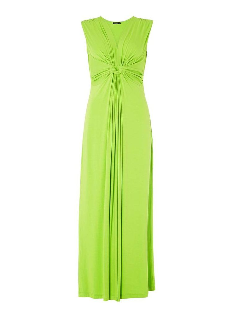 Womens *Roman Originals Lime Drape Maxi Dress- Lime