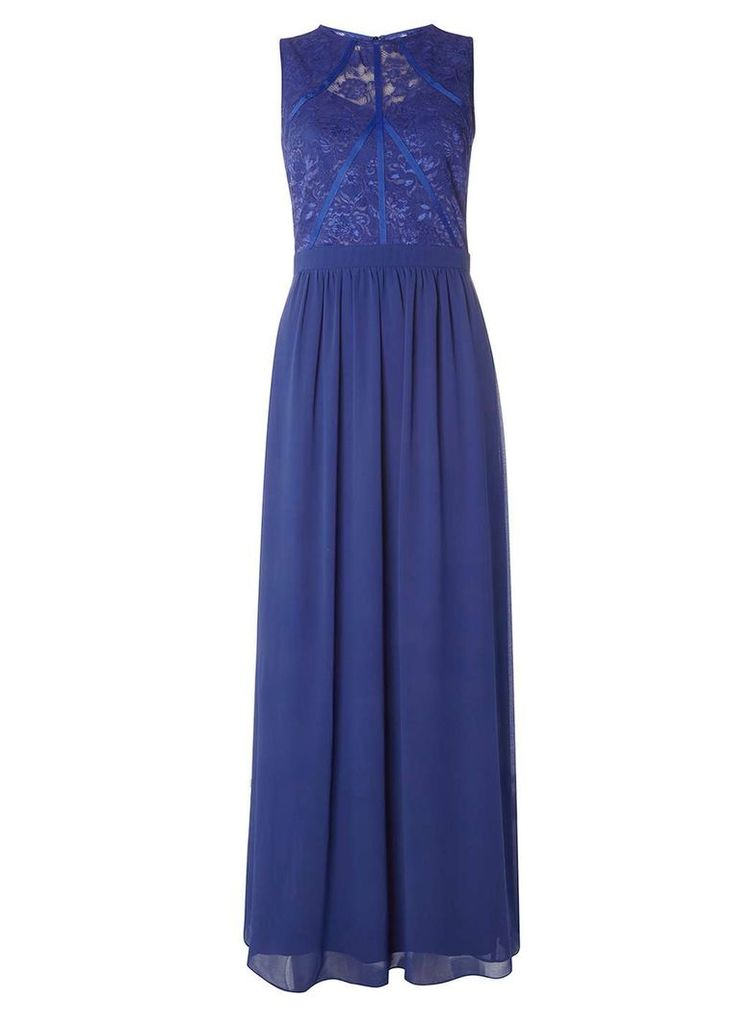 Womens **Showcase Cobalt Eva Maxi Dress- Cobalt