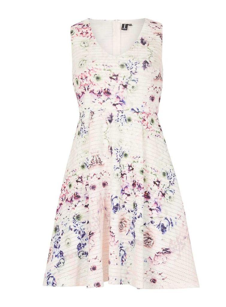 Womens *Izabel London Multi White Floral Dress- White