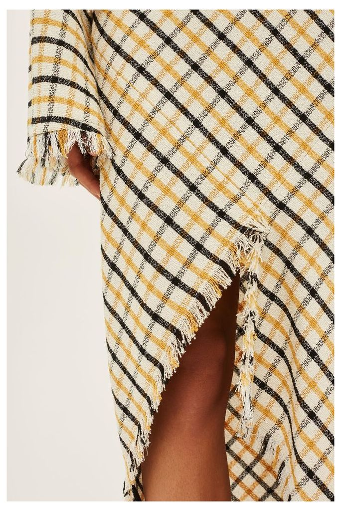 Womens Gingham Spiral Skirt by Boutique - Multi, Multi