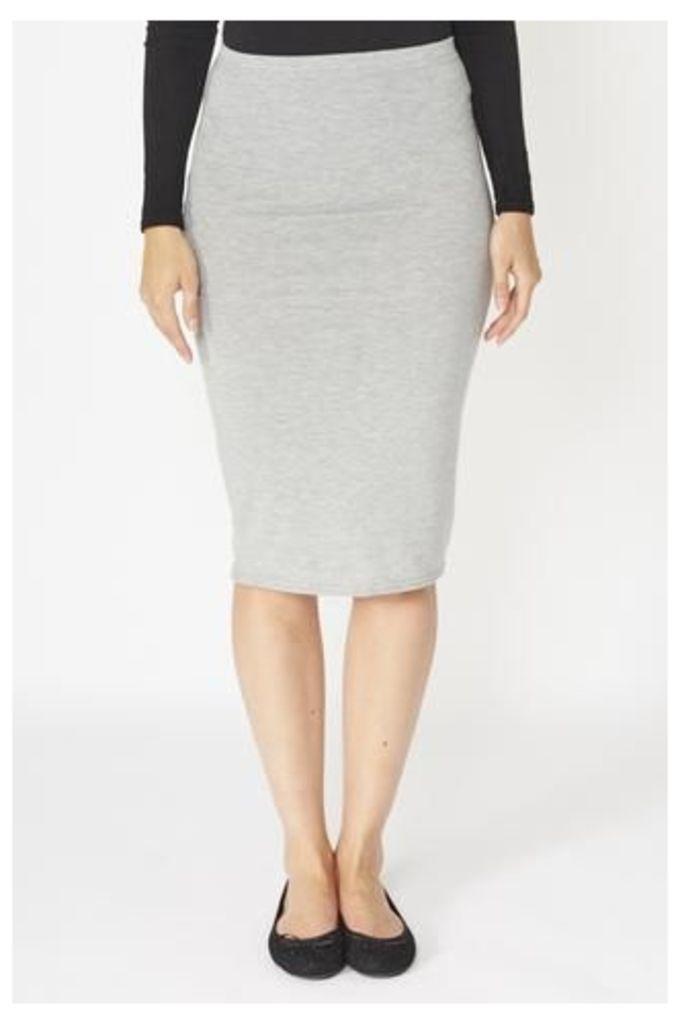 Simple Jersey Pencil Skirt