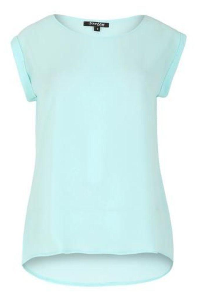 Textured Crepe T-Shirt