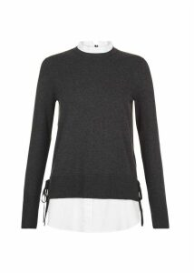 Mollie Sweater Charcoal Marl XS