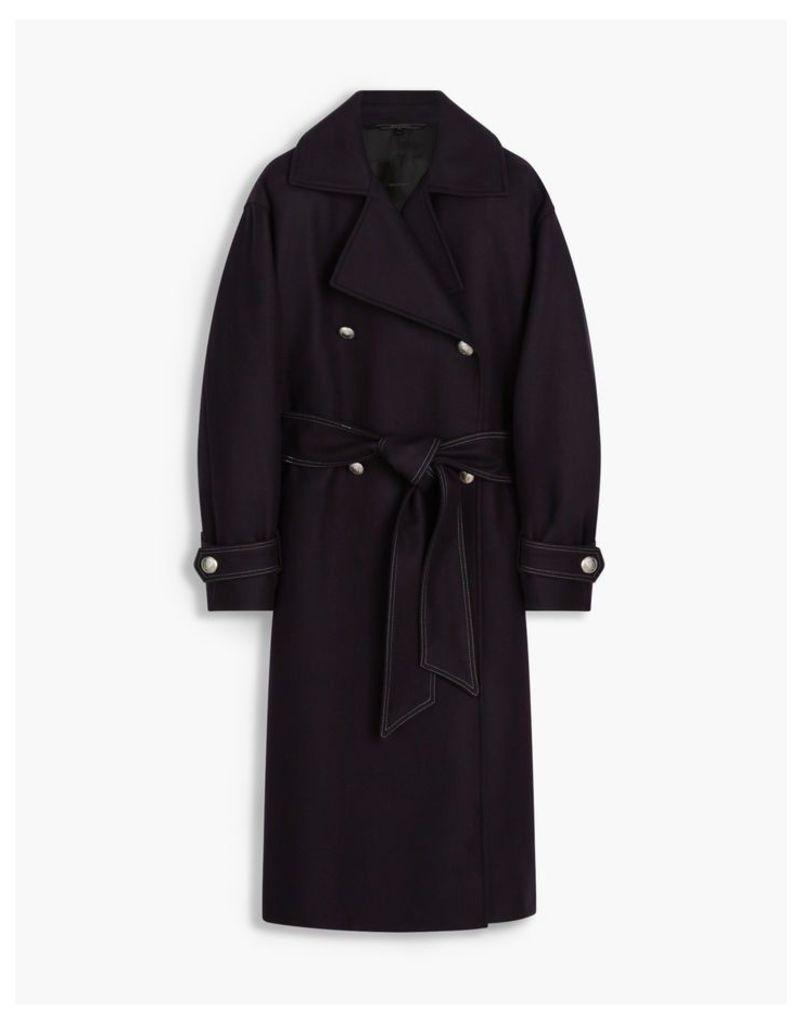 Belstaff Chalcot Coat Blue