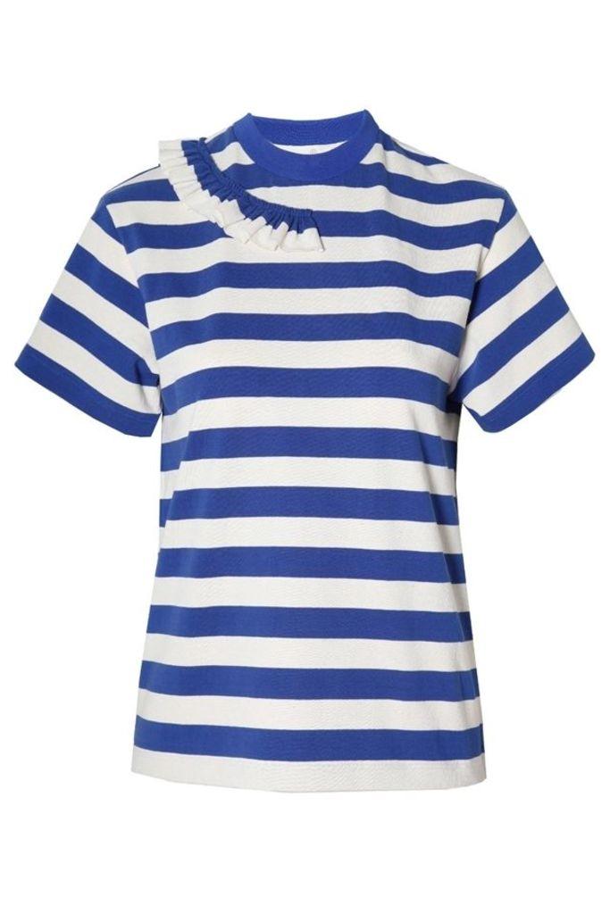 Gisa T Shirt Blue Stripes