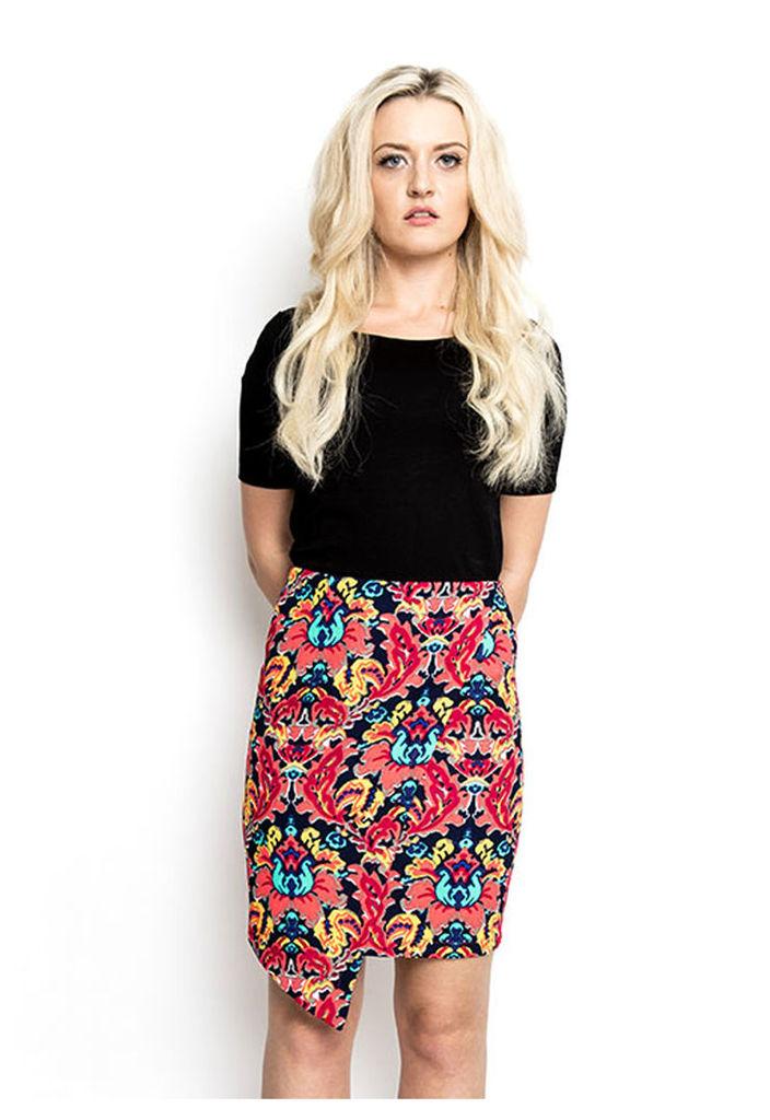 Madam Rage Zip Asymmetrical Skirt-10