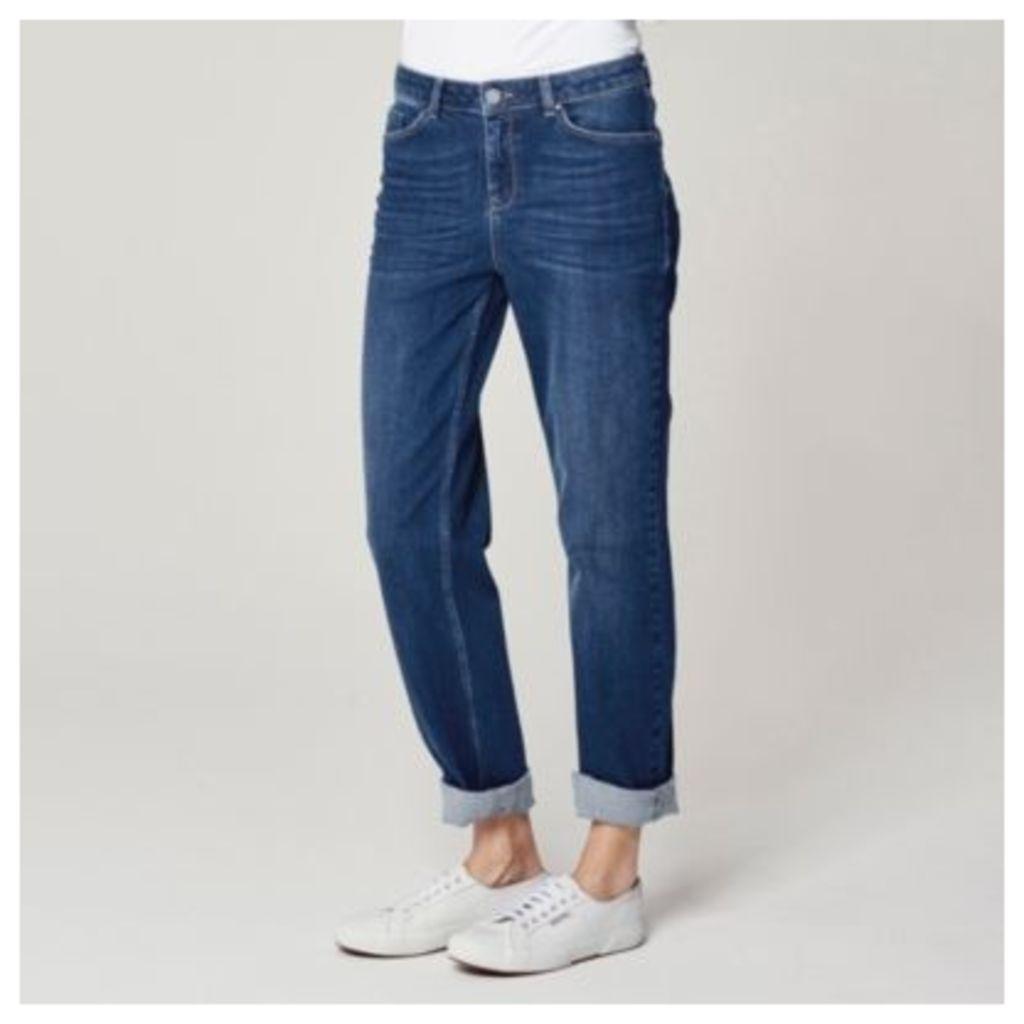 Brompton Boyfriend Jeans - Indigo