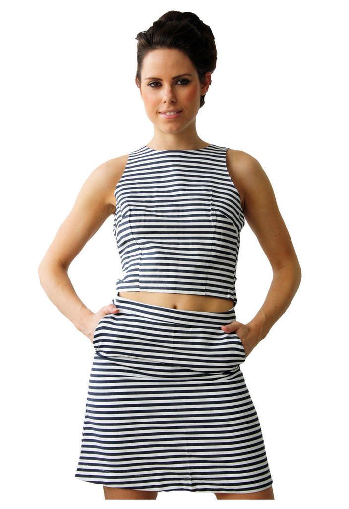 Madam Rage Stripe Skirt-10
