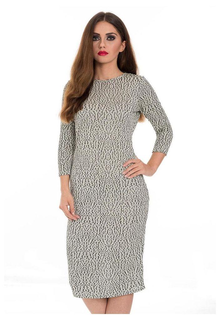 Metallic Knit Dress-8