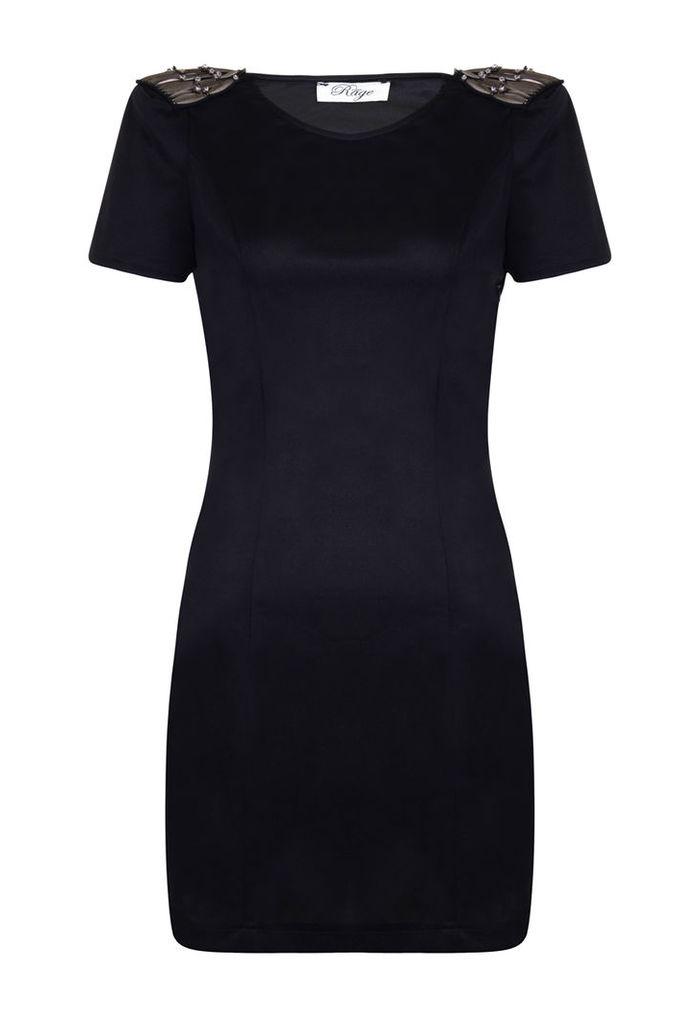 Madam Rage Shoulder Detail dress-10