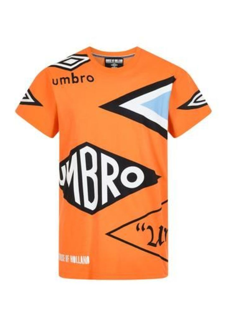 Orange Logo Tee