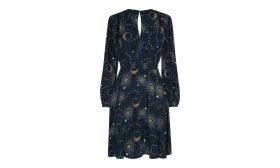 Ebony Galaxy Flippy Dress