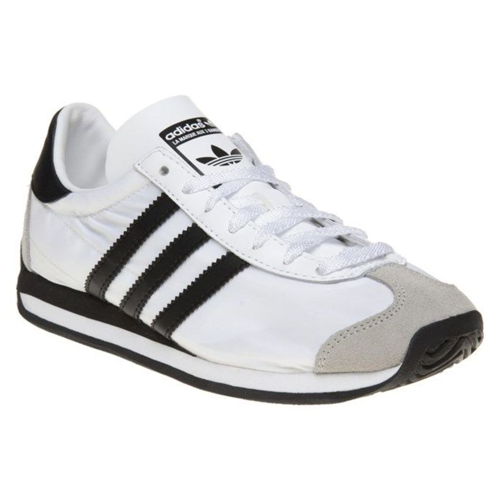 adidas Country Og Trainers, White/Black/Solid Grey