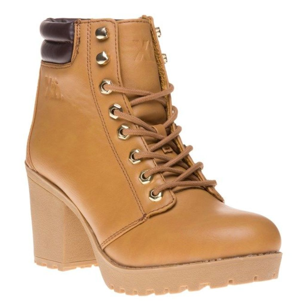 XTI 62196 Boots, Camel/Brown