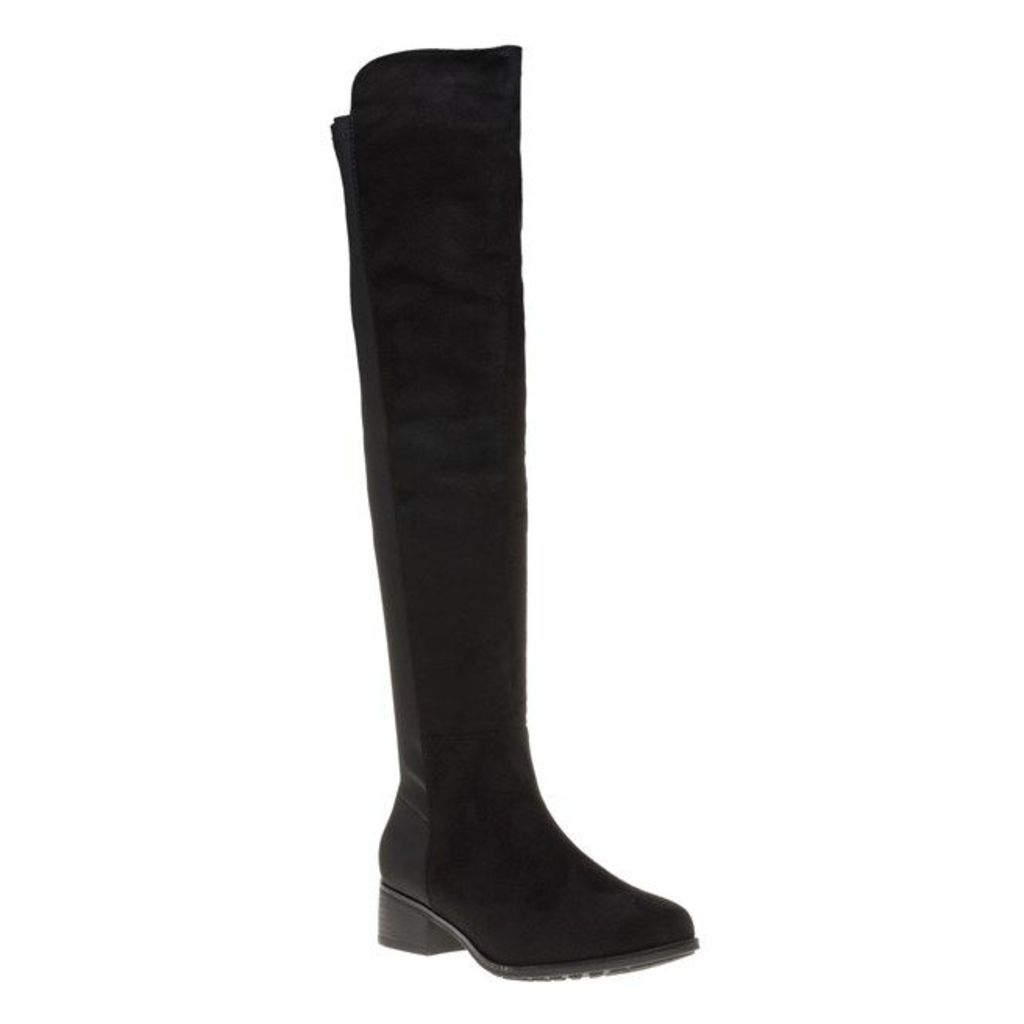 SOLESISTER Snowy Boots, Black