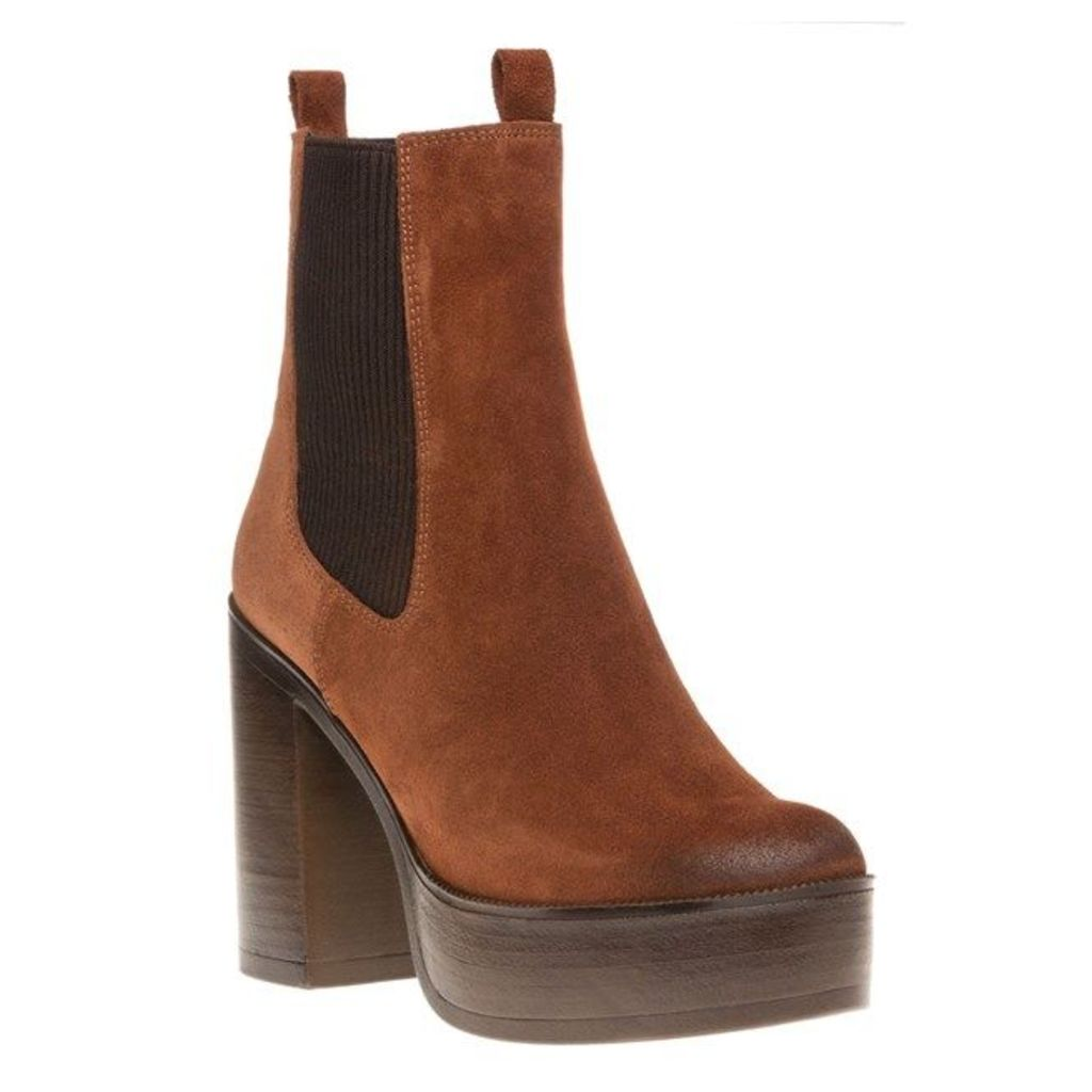 SOLE Martha Boots, Tan