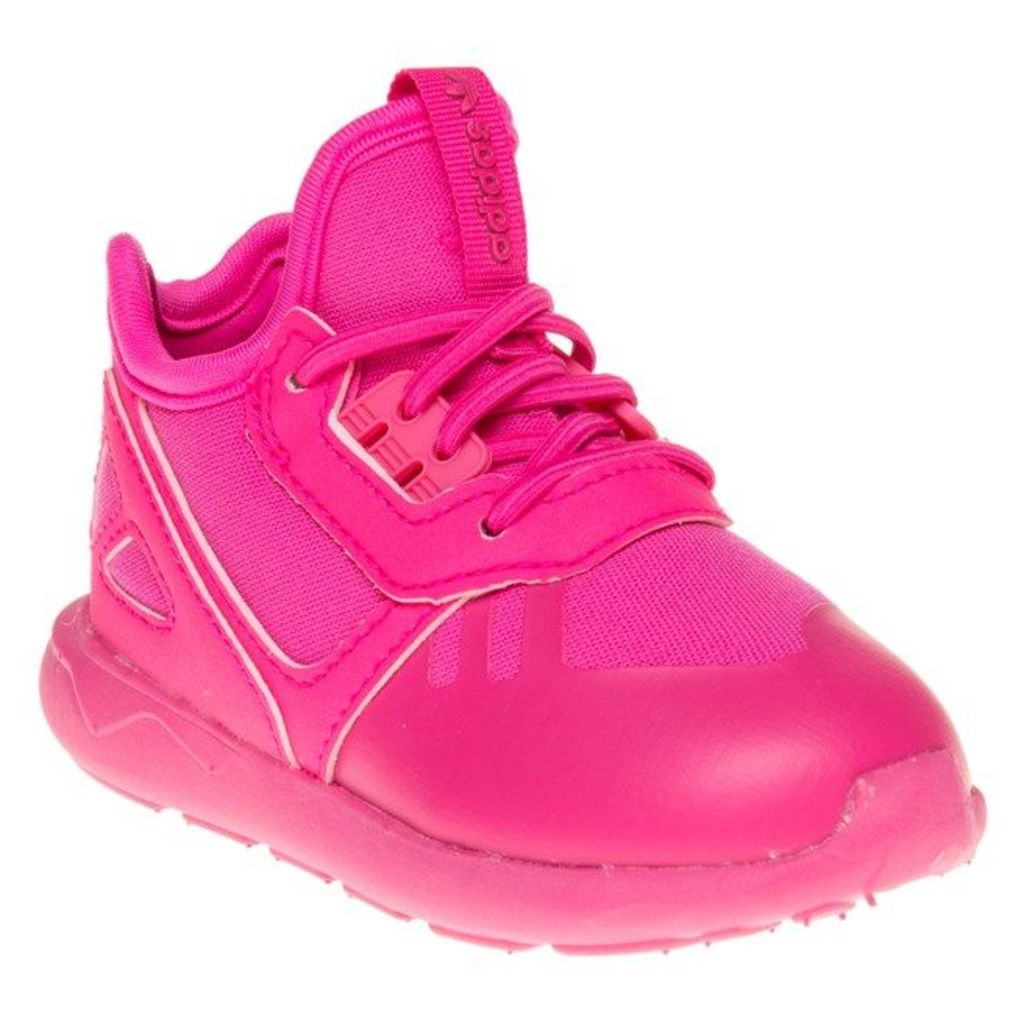 adidas Infants Tubular Runner Trainers, Shock Pink