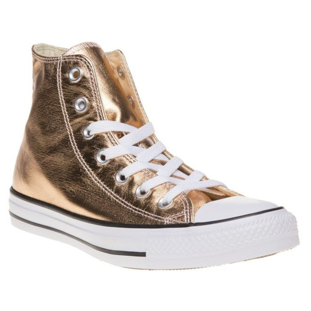 Converse All Star Hi Trainers, Metallic Sunset Glow/White