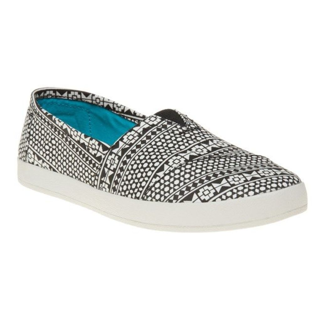 Toms Avalon Shoes, Black Moroccan