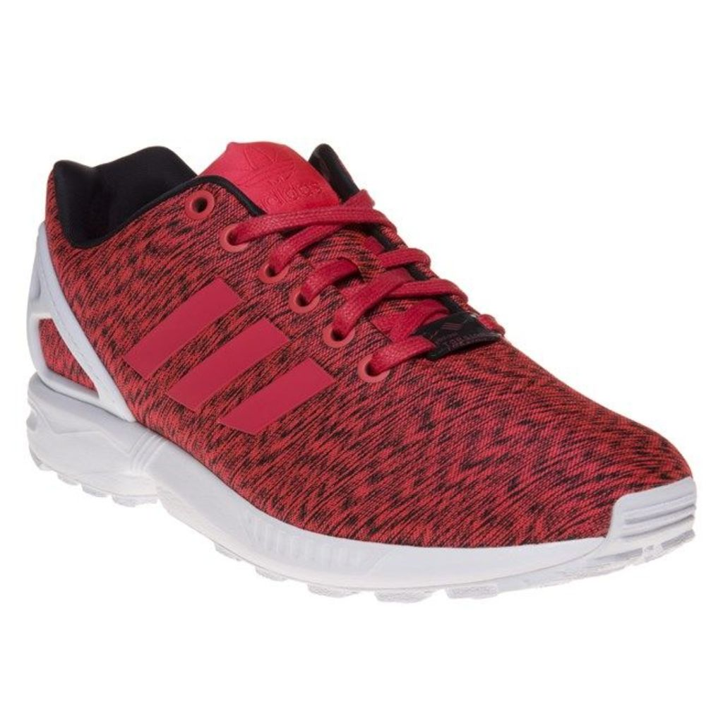 adidas Zx Flux Trainers, Black/Shock Red