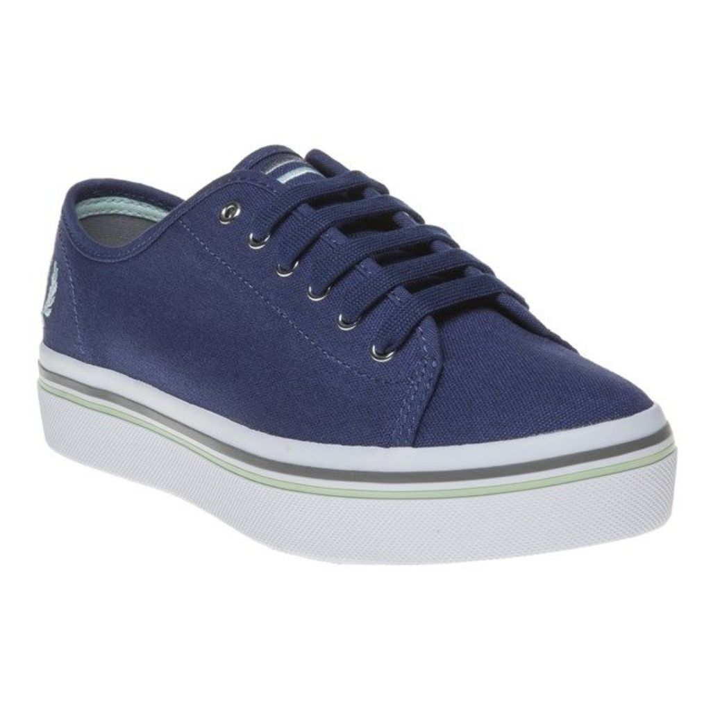 Fred Perry Phoenix Flatform Trainers, French Navy